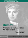 Hume&#39;s &#39;A Treatise of Human Nature&#39; (eBook): An Introduction